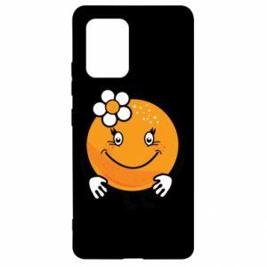 Etui na Samsung S10 Lite Pomarańcza, dla dziewczynki