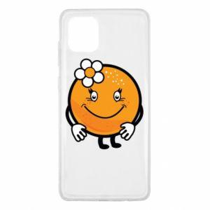 Etui na Samsung Note 10 Lite Pomarańcza, dla dziewczynki