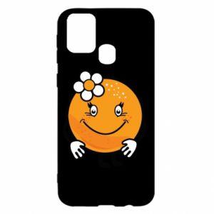 Etui na Samsung M31 Pomarańcza, dla dziewczynki