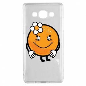 Etui na Samsung A5 2015 Pomarańcza, dla dziewczynki
