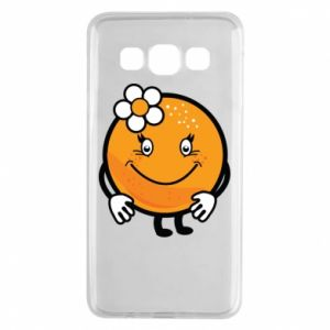 Etui na Samsung A3 2015 Pomarańcza, dla dziewczynki