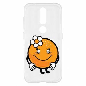 Etui na Nokia 4.2 Pomarańcza, dla dziewczynki