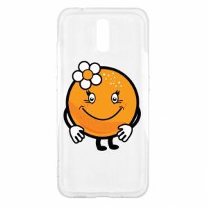 Etui na Nokia 2.3 Pomarańcza, dla dziewczynki