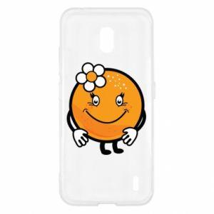 Etui na Nokia 2.2 Pomarańcza, dla dziewczynki