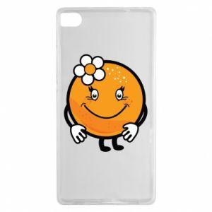 Etui na Huawei P8 Pomarańcza, dla dziewczynki