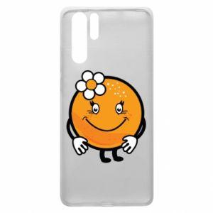 Etui na Huawei P30 Pro Pomarańcza, dla dziewczynki