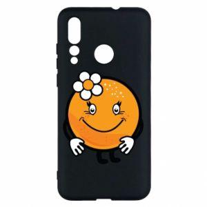 Etui na Huawei Nova 4 Pomarańcza, dla dziewczynki