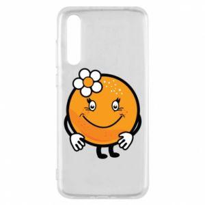 Etui na Huawei P20 Pro Pomarańcza, dla dziewczynki