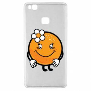 Etui na Huawei P9 Lite Pomarańcza, dla dziewczynki
