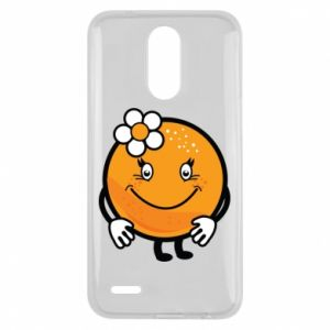 Etui na Lg K10 2017 Pomarańcza, dla dziewczynki