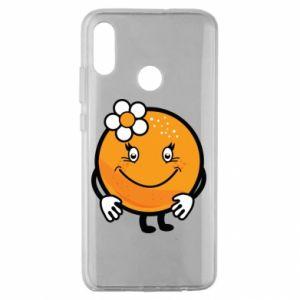 Etui na Huawei Honor 10 Lite Pomarańcza, dla dziewczynki