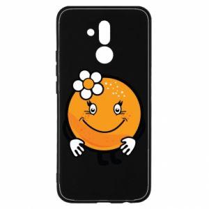 Etui na Huawei Mate 20 Lite Pomarańcza, dla dziewczynki