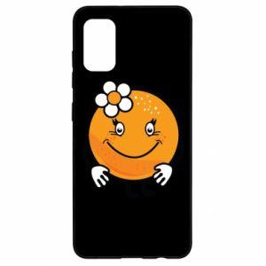 Etui na Samsung A41 Pomarańcza, dla dziewczynki