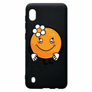 Etui na Samsung A10 Pomarańcza, dla dziewczynki