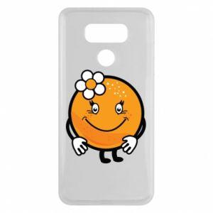 Etui na LG G6 Pomarańcza, dla dziewczynki