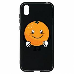 Etui na Huawei Y5 2019 Pomarańcza