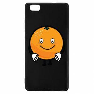 Etui na Huawei P 8 Lite Pomarańcza