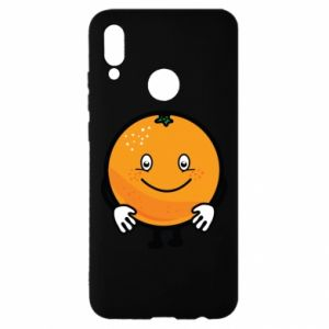 Etui na Huawei P Smart 2019 Pomarańcza