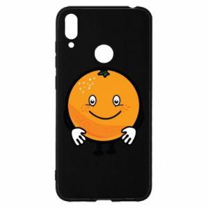 Etui na Huawei Y7 2019 Pomarańcza