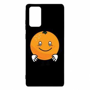 Etui na Samsung Note 20 Pomarańcza