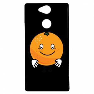 Etui na Sony Xperia XA2 Pomarańcza