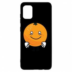 Etui na Samsung A31 Pomarańcza