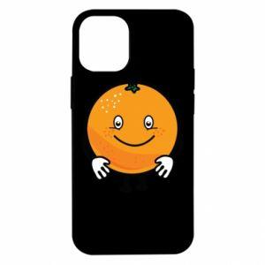 Etui na iPhone 12 Mini Pomarańcza