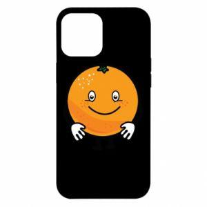 Etui na iPhone 12 Pro Max Pomarańcza