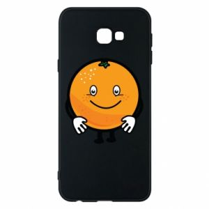 Etui na Samsung J4 Plus 2018 Pomarańcza