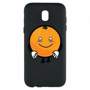 Etui na Samsung J5 2017 Pomarańcza