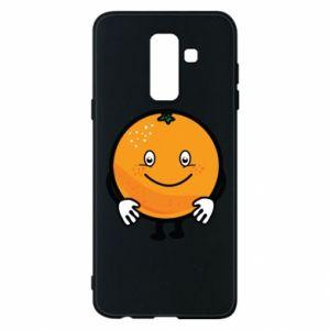 Etui na Samsung A6+ 2018 Pomarańcza