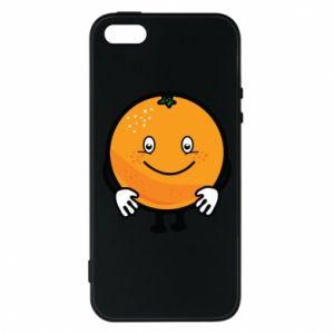 Etui na iPhone 5/5S/SE Pomarańcza
