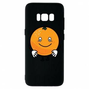 Etui na Samsung S8 Pomarańcza