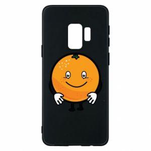 Etui na Samsung S9 Pomarańcza