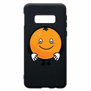 Etui na Samsung S10e Pomarańcza