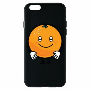 Etui na iPhone 6/6S Pomarańcza