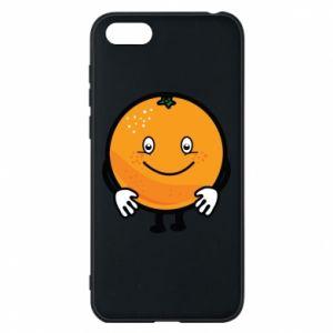 Etui na Huawei Y5 2018 Pomarańcza