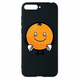 Etui na Huawei Y6 2018 Pomarańcza