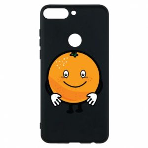 Phone case for Huawei Y7 Prime 2018 Orange