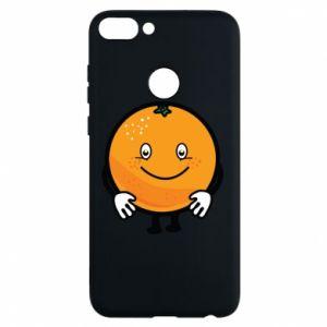 Etui na Huawei P Smart Pomarańcza