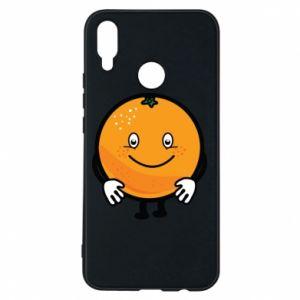 Etui na Huawei P Smart Plus Pomarańcza