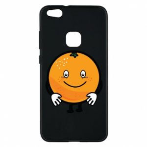 Etui na Huawei P10 Lite Pomarańcza