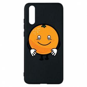Etui na Huawei P20 Pomarańcza