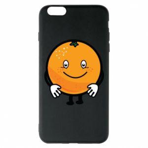 Etui na iPhone 6 Plus/6S Plus Pomarańcza