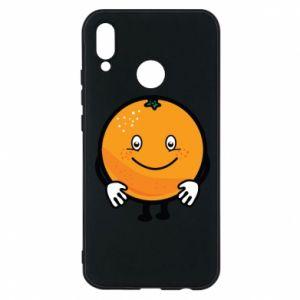 Etui na Huawei P20 Lite Pomarańcza