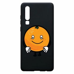 Etui na Huawei P30 Pomarańcza