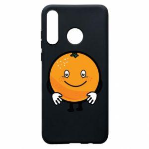 Etui na Huawei P30 Lite Pomarańcza