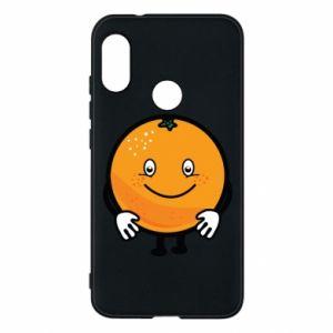 Etui na Mi A2 Lite Pomarańcza