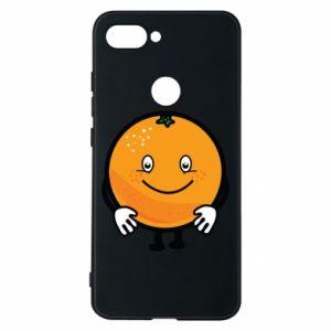 Etui na Xiaomi Mi8 Lite Pomarańcza