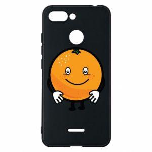 Etui na Xiaomi Redmi 6 Pomarańcza